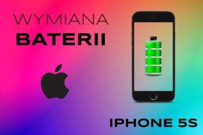 wymiana baterii iPhone 5s